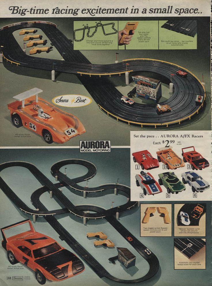 Aurora Race Set Sears 1971