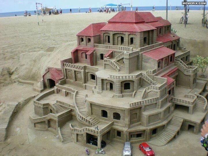Epic Sandcastle.