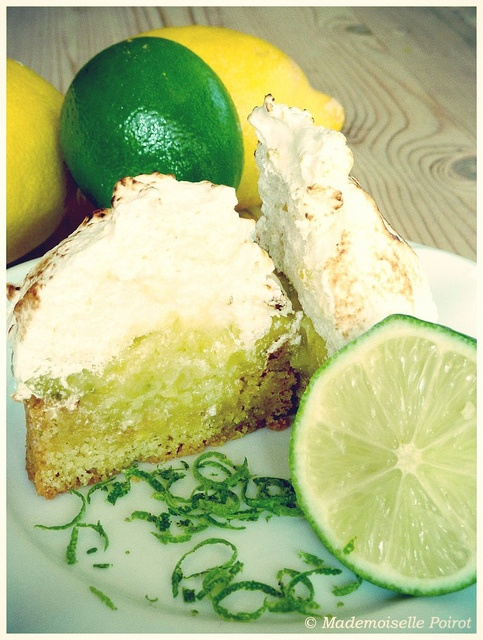 Lemon & Lime Meringue tart | My photos - © Moi | Pinterest