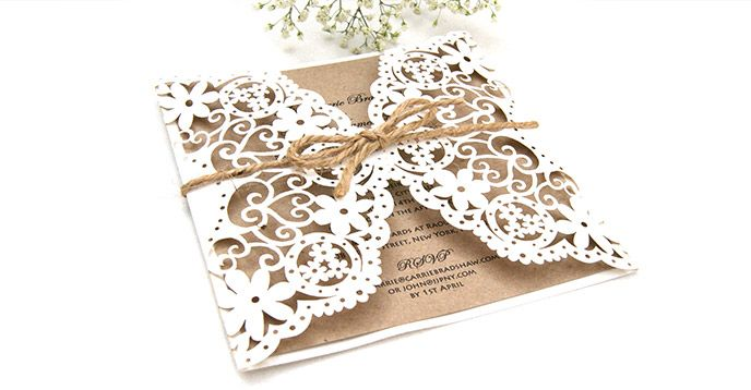 Wedding Invitations Laser Cut Uk : Laser Cut Wedding Stationery Wedding Thoughts Pinterest