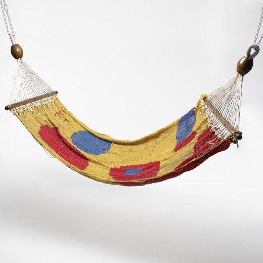 Alexander Calder hammock, 1975