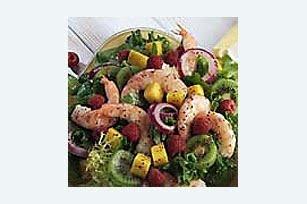 Cool Fruited Shrimp Salad | Food | Pinterest