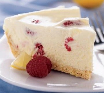 Lemon And Raspberry Mousse Pie | yuummmmmmm | Pinterest