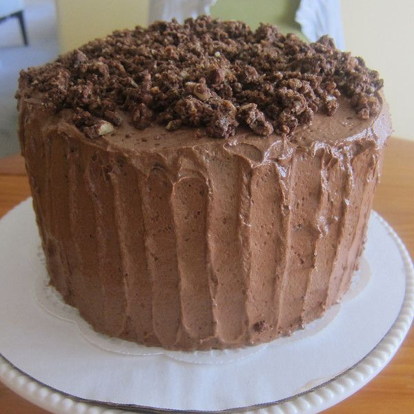 Devil's Food Cake with Hazelnut Crunch Cake - The Misanthropic ...