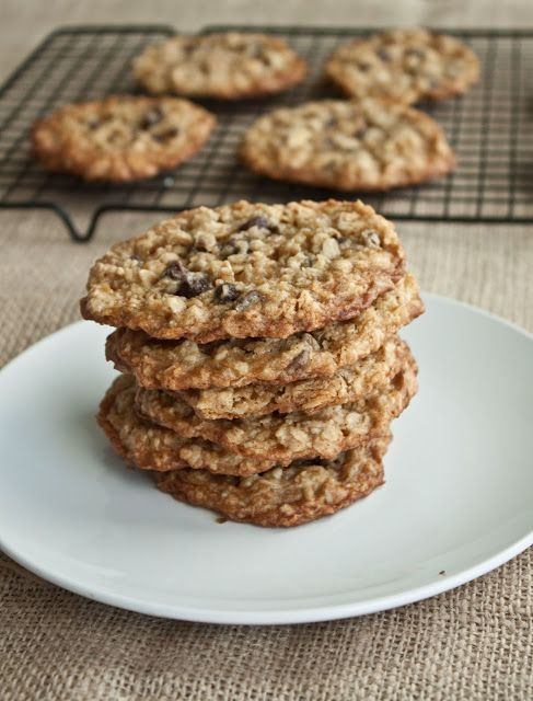 Chewy Chocolate Chip Oatmeal Cookies Recipes — Dishmaps