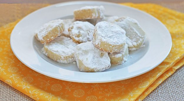 Lemon Meltaway Cookies | Dessert For Two