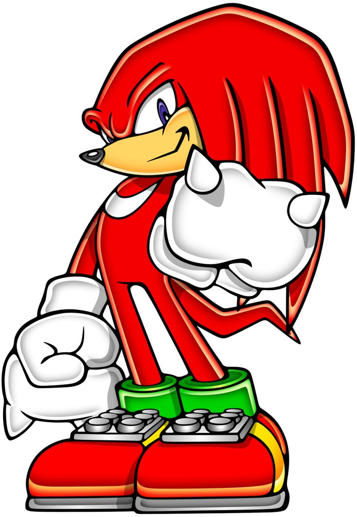 knuckles | Gallery » Official Art » Knuckles the Echidna ...
