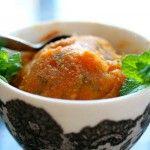 Loquat Lemon Mint Sorbet | Stuff to Do with Loquats | Pinterest