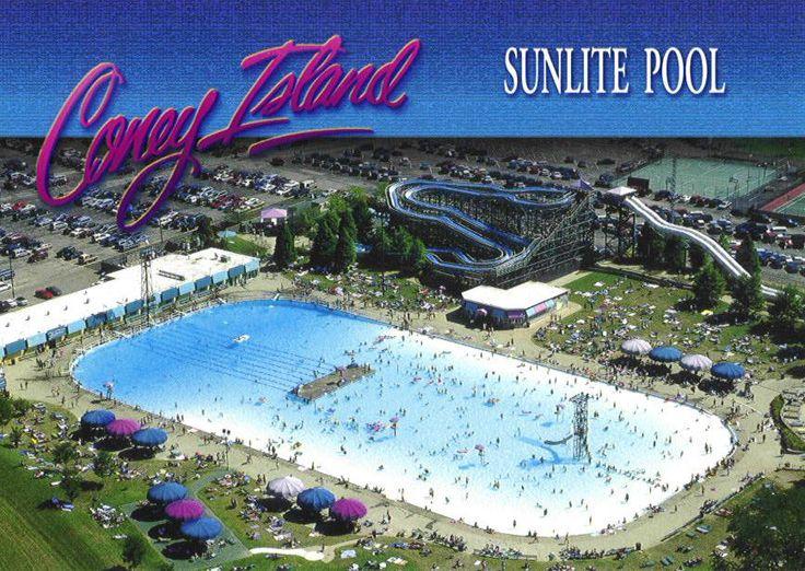 Sunlight Pool At Coney Island Cincinnati Ohio Places Usa Cincinnati Pinterest
