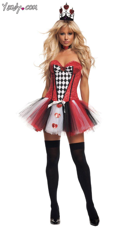 queen of hearts halloween costume for tweens