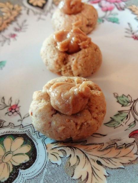 Honey Almond Thumbprint Cookies {Gluten Free}
