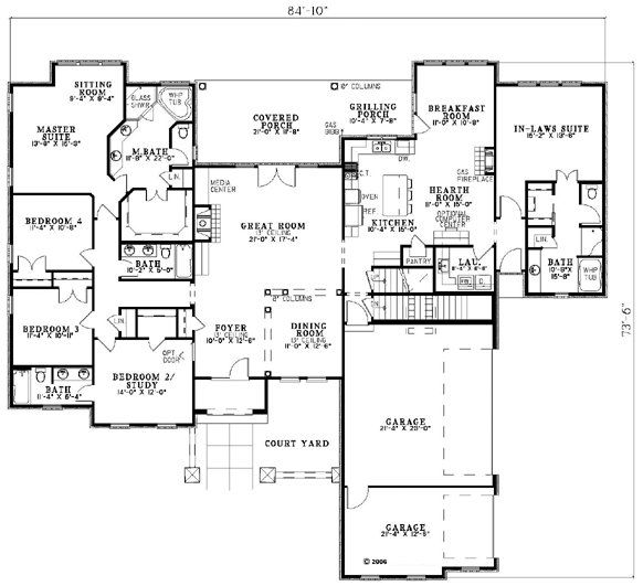 Nice House Floor Plan House Floor Plans Pinterest