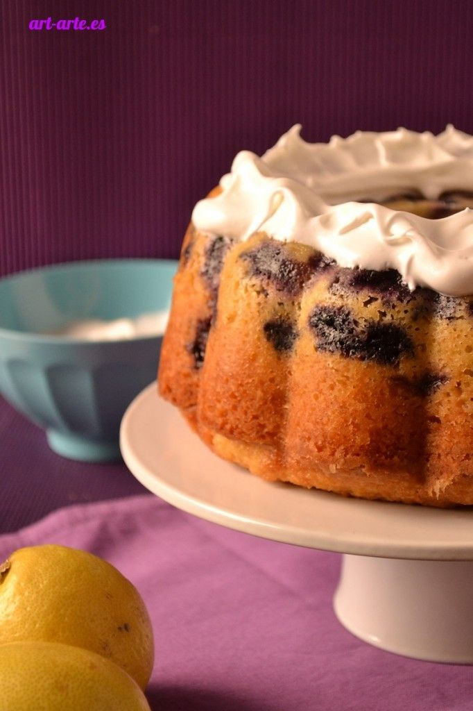 Blueberry-Lemon Bundt Cake | Cook & Fun | Pinterest