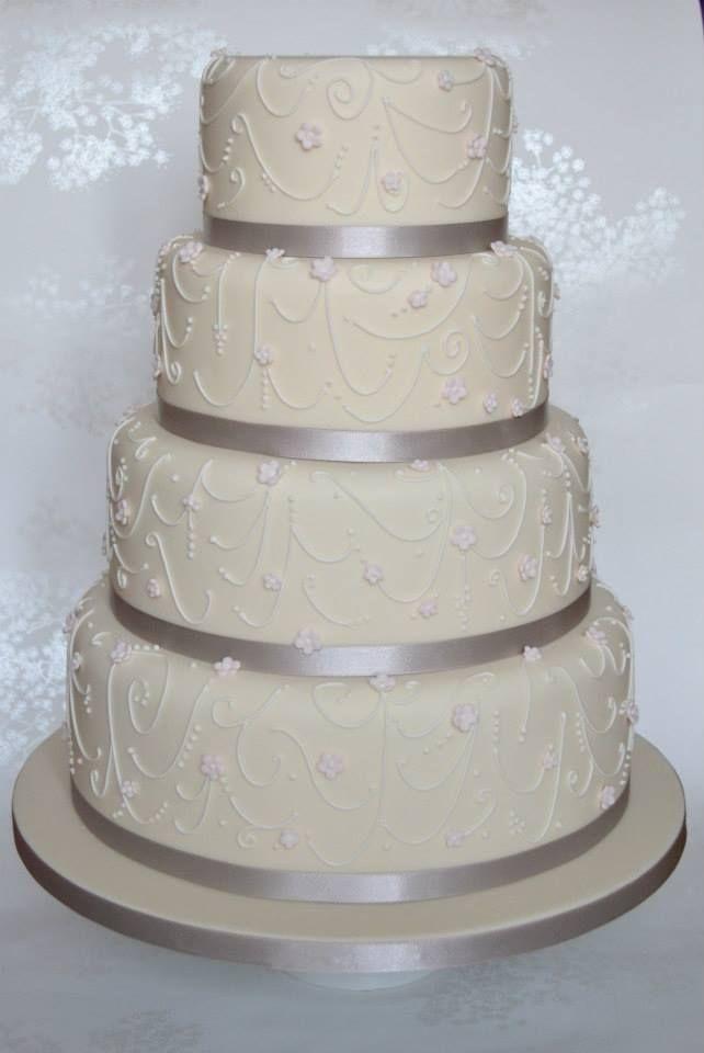 Great Wedding Cake Cake Pinterest