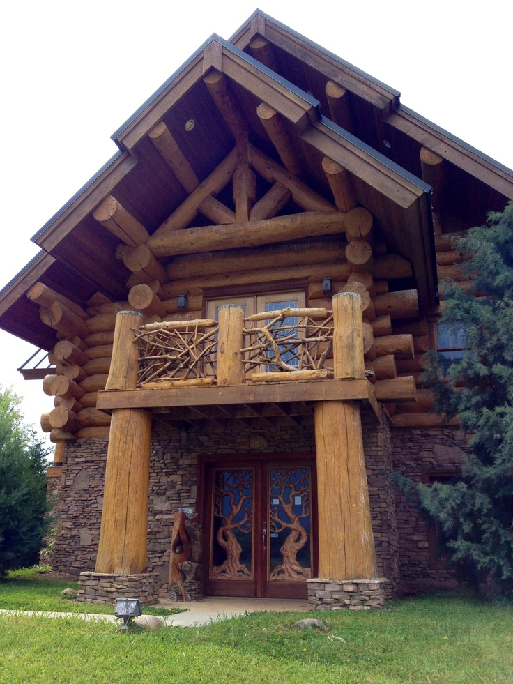 Log home high end custom building abingdon va pinterest for High end house builders