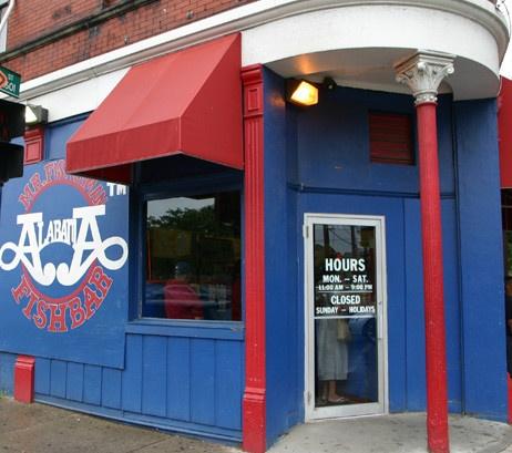 Alabama fish bar best cincinnati restaurants pinterest for Fishing in cincinnati