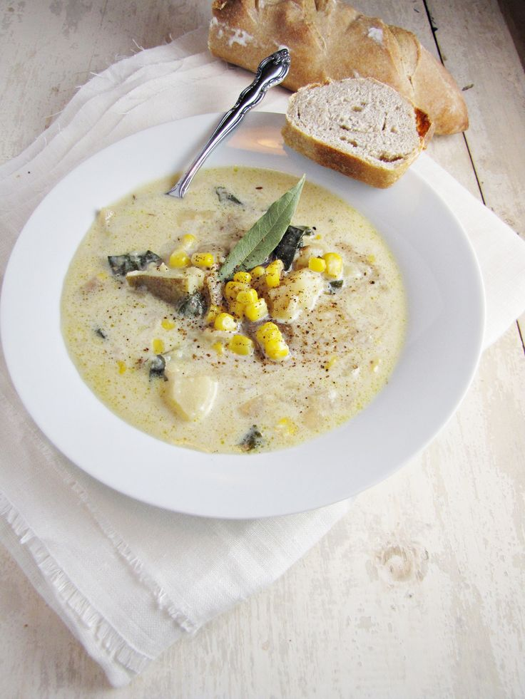 ... recipe for Corn and Potato Chowder could become one of your favorites