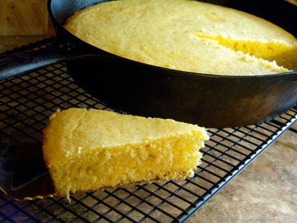 Southern Skillet Cornbread Recipe - My Spice Sage Blog