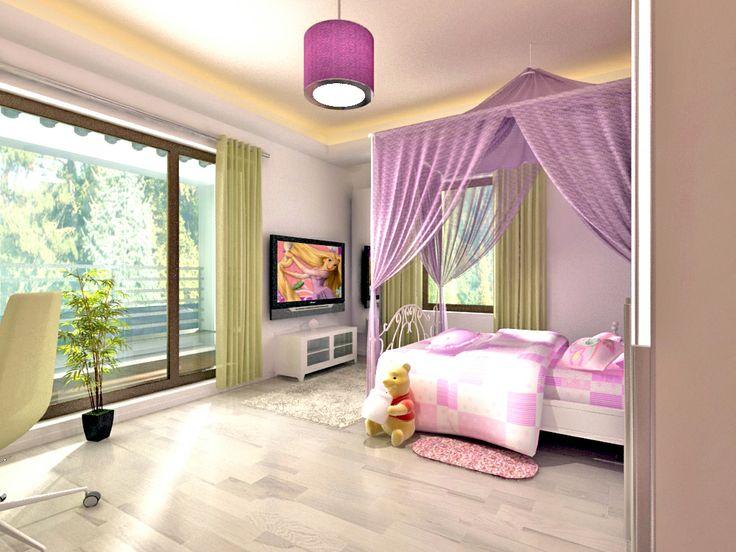 Girl bedroom interior design projects pinterest for Bedrooms pinterest