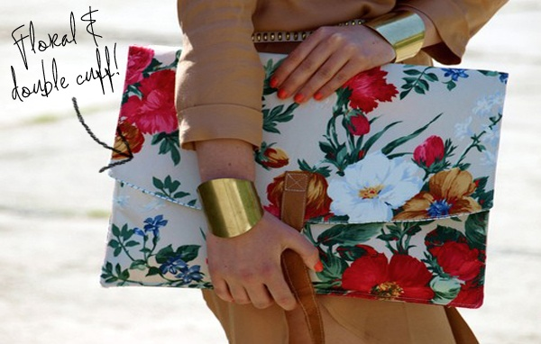 be crazy, be happy, be fashion: MAXI CLUTCH