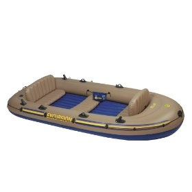 Intex Excursion 5 Boat SetPrice: $124.94 & this item ships for FREE with Super Saver Shipping.