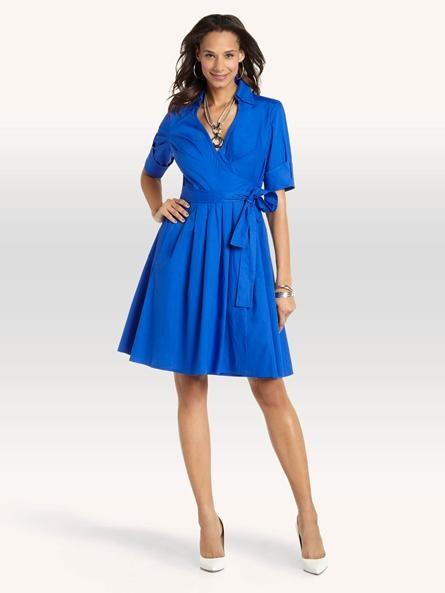 Wrap Shirt Dress   Fashion Queen   Pinterest