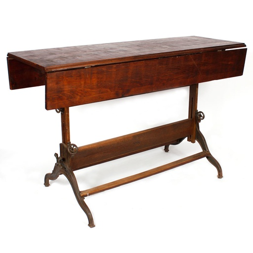 Vintage drafting table from 12 chairs boston