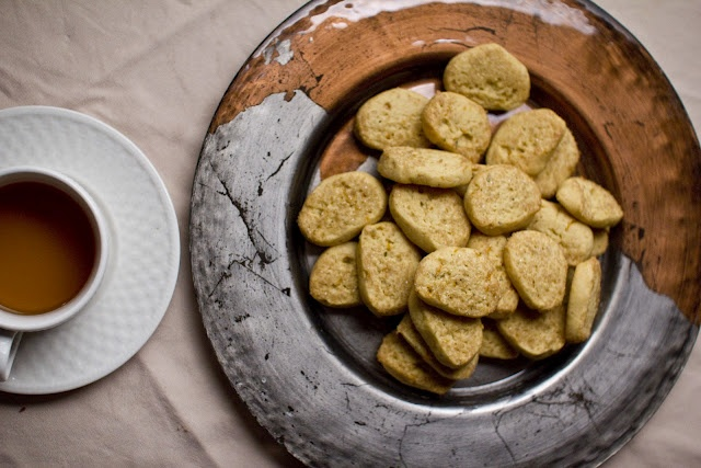 Vegan Orange Rosemary Cookies from The Colors of Indian Cooking (http ...