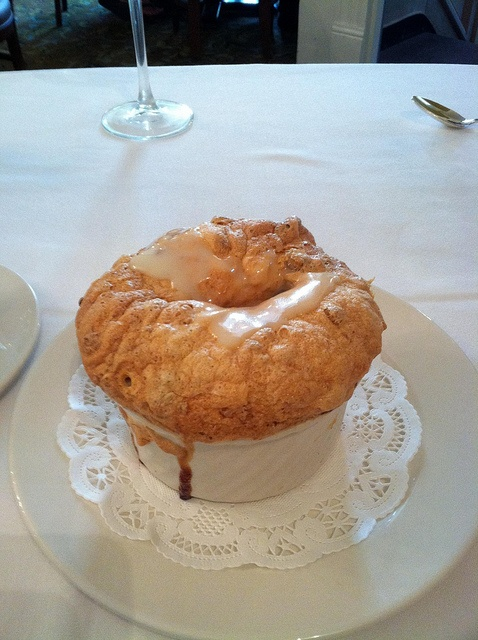 Bread pudding souffle with whiskey cream sauce. Commander's Palace ...