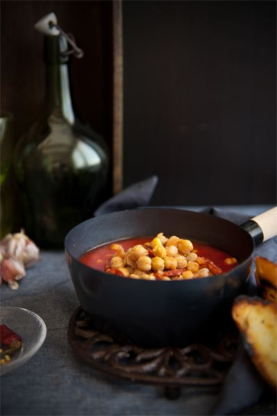 chickpeas chorizo soup   Food Nirvana   Pinterest