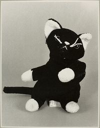 Happy Friday the 13th! Beware the black cat. Image: Christian Boltanski, Untitled, 1998, Harvard Art Museums/Fogg Museum.
