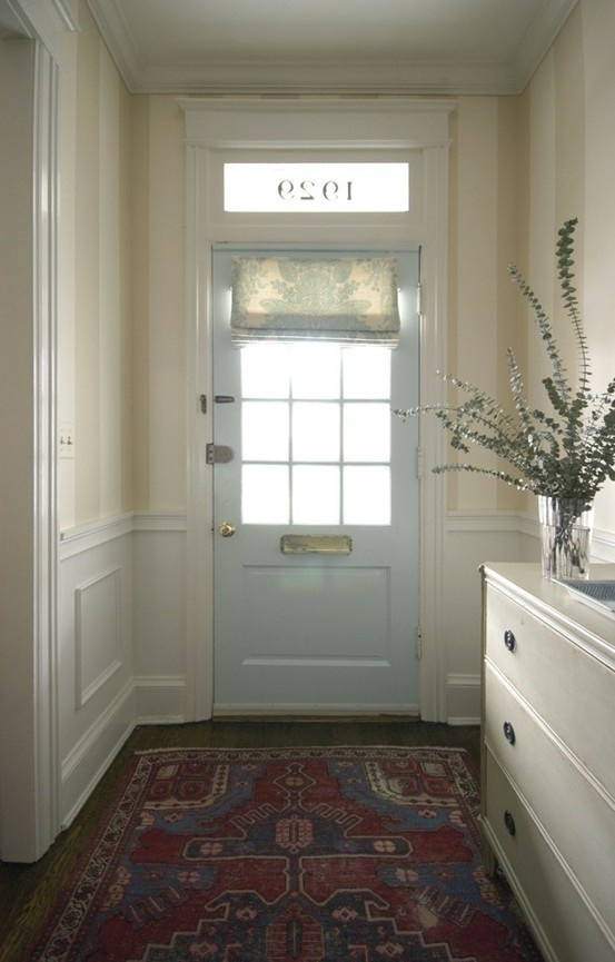 Roman Shade Front Door Redo Lets Sit On The Porch Pinterest