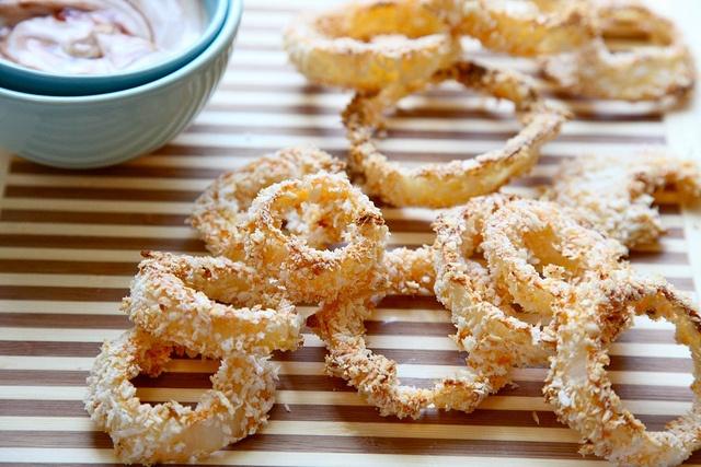 BBQ onion rings | Food Inspirations | Pinterest