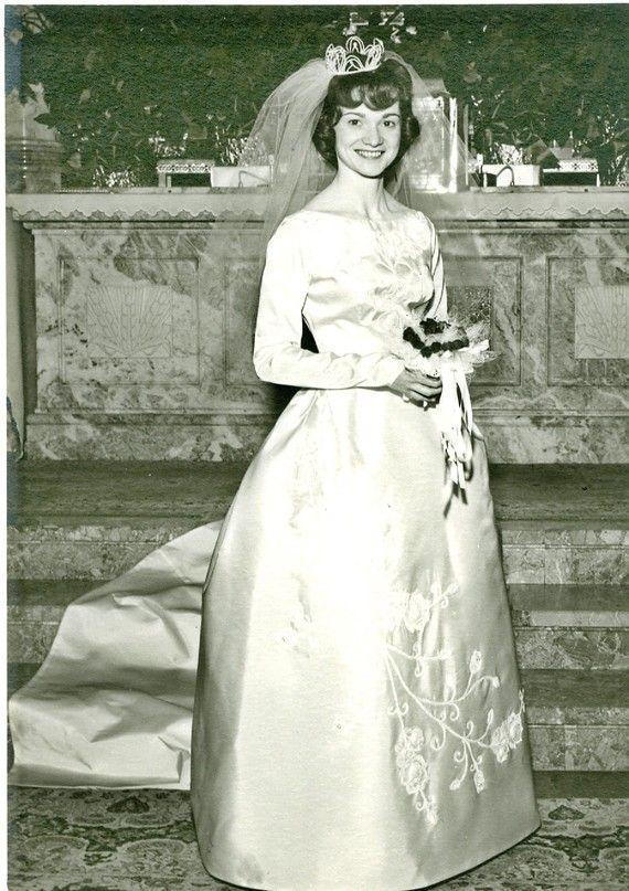 1963 wedding dress vintage wedding dress 1963 madmen 1960s