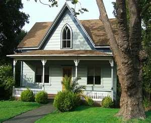 Small Victorian Home Dream Home Pinterest