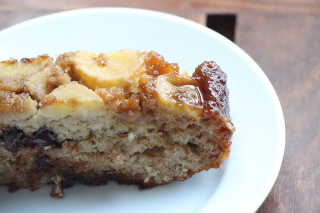 ... David Lebovitz's Banana and Chocolate Chip Upside Down Cake