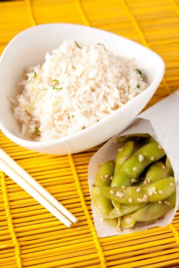 Sesame Edamame & Spring Rice | Favorite Recipes | Pinterest