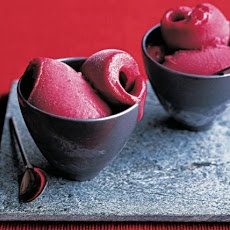 Five-Spiced Plum And Red Wine Sorbet Recipe