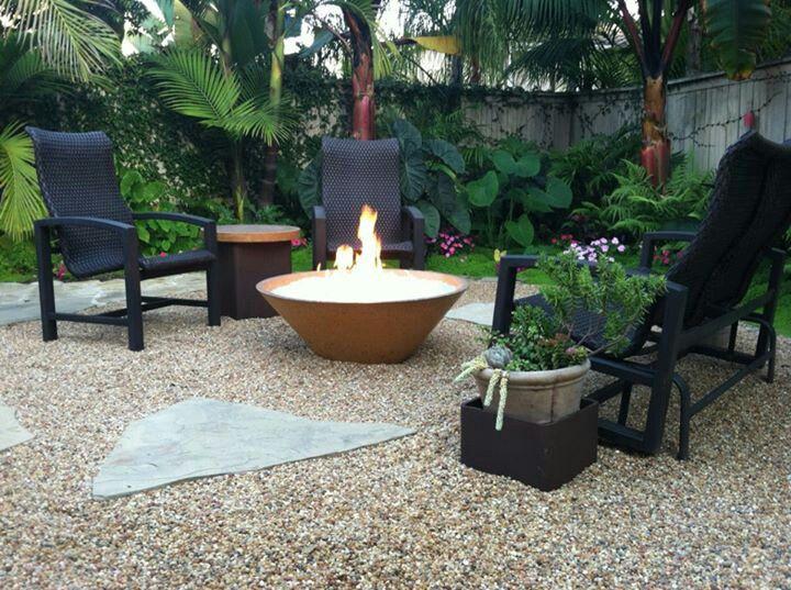 Custom Backyard Fire Pits : Custom outdoor fire pit by Ron Haratyk