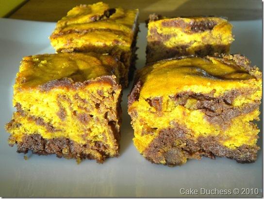 Cake Duchess: Pumpkin-Swirl Brownies and a Little Thanks