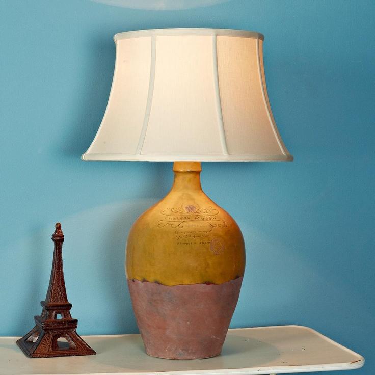 mustard bordeaux jug table lamp for the home pinterest. Black Bedroom Furniture Sets. Home Design Ideas