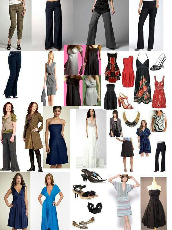 Body Pear Shape Picture Guide Clothes Pinterest