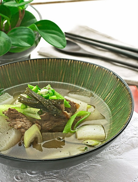 Beef radish soup | Recipes | Pinterest