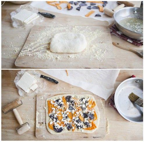 Sweet Potato and Feta Pizza | Recipe