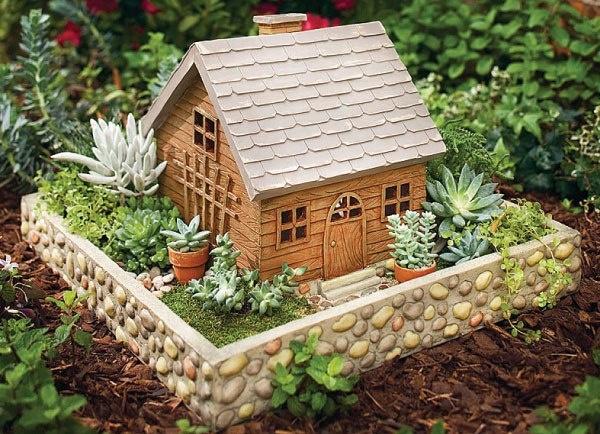Mini Succulent Garden Fairy Gardens Pinterest
