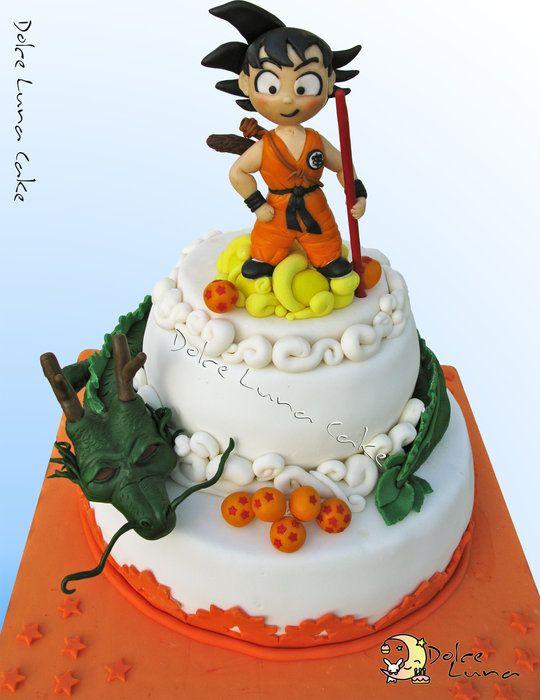 Dragon ball Cake - by DolceLunaCake @ CakesDecor.com - cake decorating website