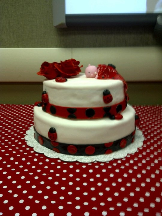 baby shower cakes ladybug baby shower cake ideas