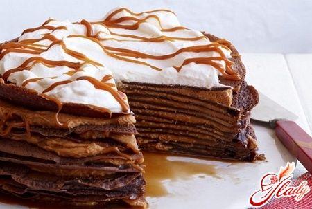Блинные тортики с фото