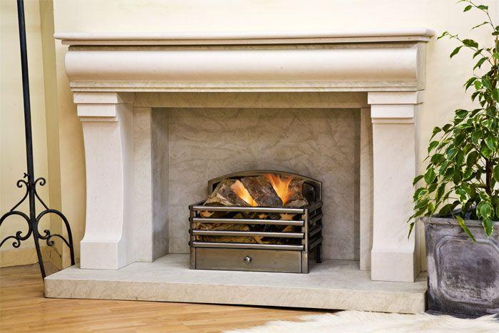 Limestone Fireplace Fireplace Mantel Pinterest