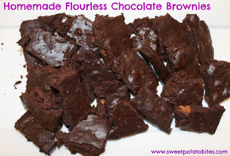 Homemade Flourless Chocolate Brownies | Good Eats! | Pinterest
